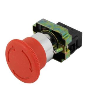 Push Lock Turn to Release Emergency Pushbutton Switch (XB2-BS542)