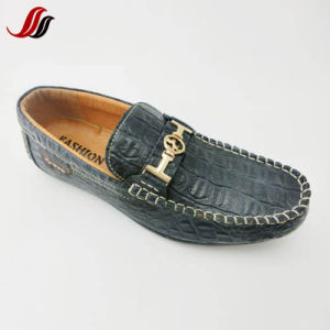 High Quality Men′s Slip-on Casual Leather Shoes Loafer Shoes (LZ3) pictures & photos