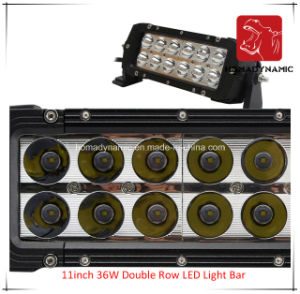 LED Car Light 11 Inch 36W Double Row LED Light Bar Waterproof for SUV Car LED off Road Light and LED Driving Light pictures & photos