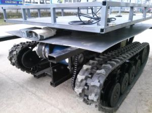 Customized Rubber Track Chasiss (DP-WYT-148) pictures & photos