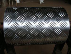 1100 3003 5052 Flat Clean Aluminium Checkered Plate