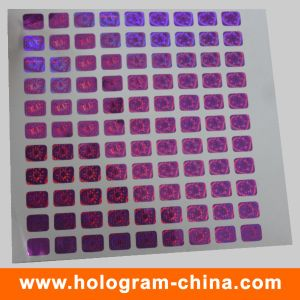 Good Quality Holographic Laser Matrix Security Label pictures & photos