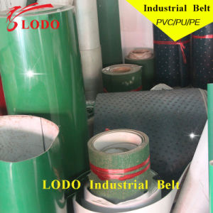Industrial Transmission Green Polyester PVC Conveyor Belt pictures & photos