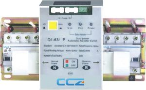 CB Class Dual-Power Automatic Transfer Switch pictures & photos