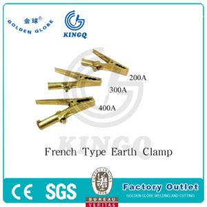 Kingq 500A Italy Type Earth Clamp of Welding Torch pictures & photos