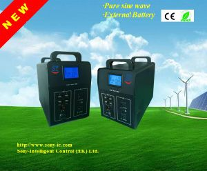 2500/3000/5000W Pure Sine Inverter with Solar Charger and DC-DC Outputs