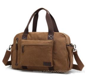 Canvas Shoulder Travelling Bag Weekender Bag Sports Handbag pictures & photos