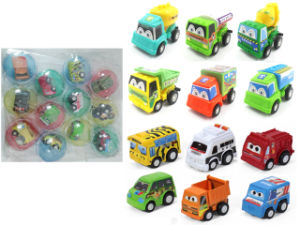 Promotion Gift Pull Back Mini Cars in Egg Shell (H0415325) pictures & photos