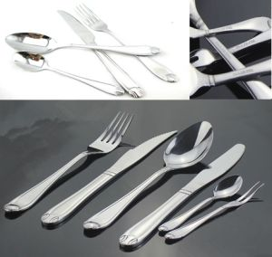 Stainless Steel Tableware Cutlery Flatware Set (QW-A06) pictures & photos