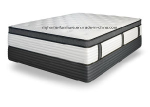 BS7177 Fire Retardant Kingkoil Memory Foam Pocket Coil Spring Mattress pictures & photos