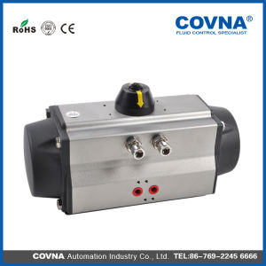 Aluminum Pneumatic Ball Valve Air Control Actuator pictures & photos
