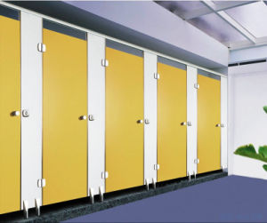 Wholesale HPL Toilet Shower Cubicle pictures & photos