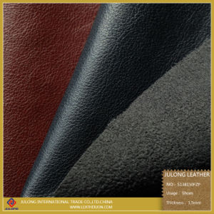 Litchi Texture High Quality Imitation Leather for Shoes (S138) pictures & photos