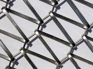 Flat Wire Mesh Belt of Stainless Steel