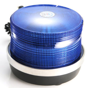 LED Oblate Light Warning Police School Medical Beacon (HL-215 BLUE)