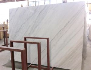 Guangxi White Marble Slabs Lighting White Cloud White Marble Slabs pictures & photos