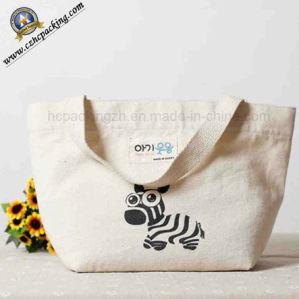 Customized Logo Raw Canvas Shopping Bag (HC00150706001) pictures & photos