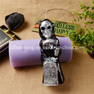 Halloween Decorative Skull Skeleton Tombstone Graveyard Unique Silicone Candle Mould