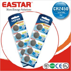 Cr2450 Lithium Button Cell Battery with Pravite Brand pictures & photos