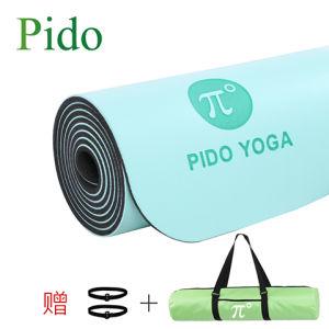 Printed Natural Anti-Slip Yoga Mat pictures & photos
