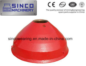 Mn13cr2 Mn18cr2 Crusher Parts Concave and Mantle