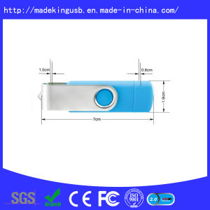 Hot Sale Swivel Plastic Promotion Gift OTG USB Flash Drive pictures & photos