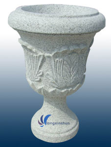 European Grey Stone Flower Pot pictures & photos