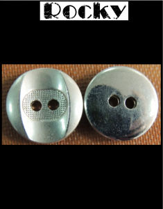 2 Holes Zinc Alloy Button Brass Button
