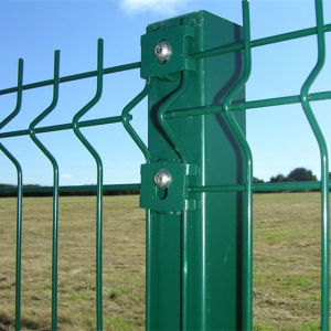 Green PVC Coated 3D Welded Wire Mesh Fence pictures & photos