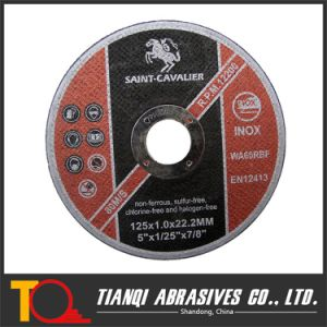 Ultra Thin Cutting Disc for Metal/Steel 125X1.6X22.23 pictures & photos