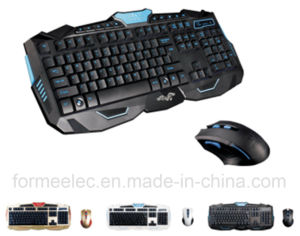 2.4GHz Wireless Keyboard Mouse Suits Laptop Computer Keyboard pictures & photos