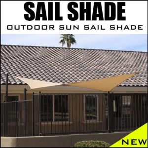 3X3m HDPE Garden Sun Shade Sail (manufacturer) pictures & photos