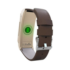 Gelbert Blood Pressure Heart Rate Monitor Bluetooth Smart Bracelet pictures & photos