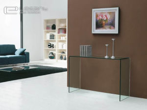 15mm Clear Glass Console Table of Modern Design pictures & photos