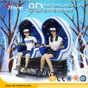 2 Seats 9d Virtual Reality Cinema with Vr Headset System pictures & photos