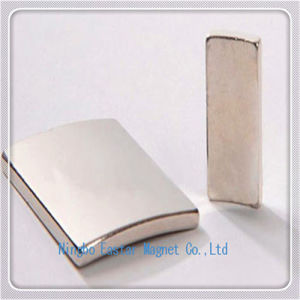 Permanent Neodymium Segment Magnet for Motor pictures & photos