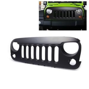 Auto Parts Angry Bird Black Front Grille for Jeep Wrangler pictures & photos