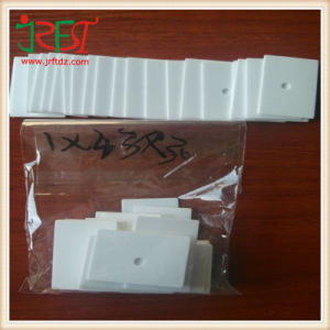 1mm* 43mm * 30mm Electronic Alumina Ceramic with Hole pictures & photos