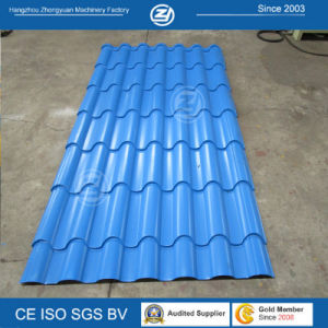 Aluminium Coils Roof Tile Roll Forming Machine pictures & photos