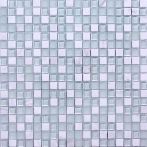 Crystal Glass and Stone Decor Swimming Pool Mosaic Tile pictures & photos