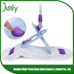 Hospital Flat Wet Cotton Mega Rotating Dust Mop pictures & photos