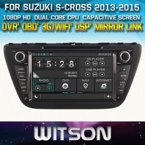 Witson Windows for Suzuki S-Cross 2013-2015 Radio Navigation pictures & photos
