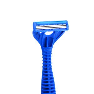 Triple Blades Disposable Shaving Razor with Aloe Lubricant Stripe (JG-S901) pictures & photos