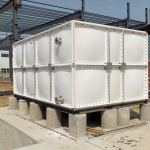 Flexible Panel Water Container FRP SMC Water Tank pictures & photos