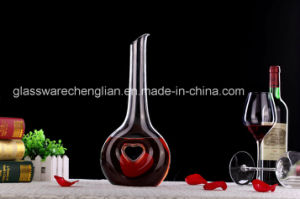 Artificial High Quality Crystal Wine Glass Decanter (YJQ-20) pictures & photos
