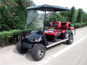 4 Front Seats Plus and 2 Rear Seats Cheap Electric Golf Cart for Sale pictures & photos