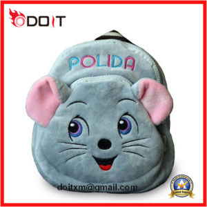 Cartoon Animal Mouse Custom Plush Children School Bag pictures & photos