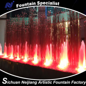 Colorful Aerated Spray Fountain with RGB Lighting pictures & photos