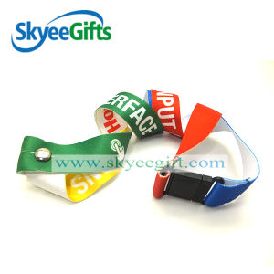 New Product Various Styles Funny Silk Screen Printing Nylon Lanyard pictures & photos