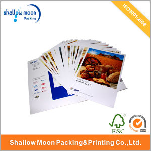 Customized Eco-Friendly Paper Magazine Printing (QYCI15157) pictures & photos